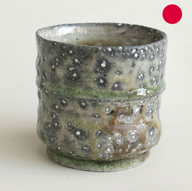Bambusbecher 001  - Bamboo Guinomi 001