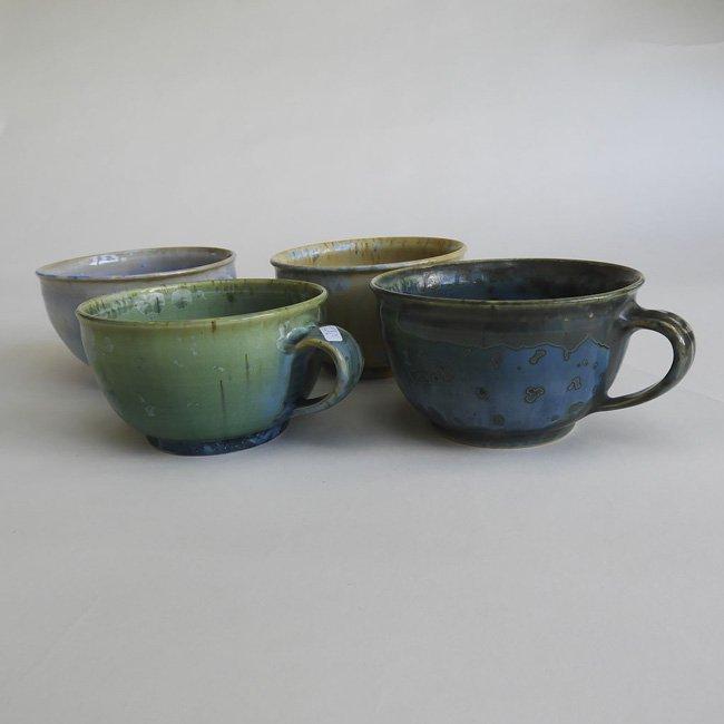 Café-au-Lait Tasse, Kristall