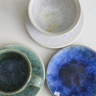 Kristallglasuren Tassen&Becher